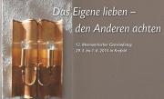 Gemeindetag 2014 Hier gehts direkt zur Nachlese des 12. Mennonitischen Gemeindetags in Krefeld